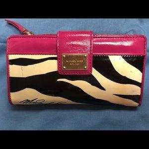 Michael Kors Zebra Wallet